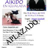 Aplazamiento del 2º Encuentro de Aikido