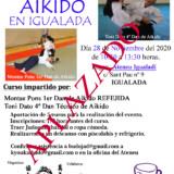 Aplazado el 6º Encuentro de Aikido 2020